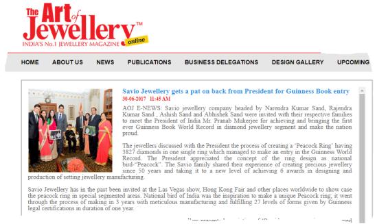 savio jewellery meets president (1)